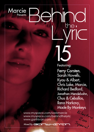 Behind The Lyric 015 with Marcie, Ferry Corsten, Sarah Howells, Kyau & Albert, and more (11-03-09)