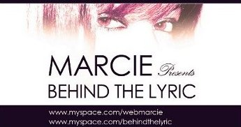 Win a guest spot on Behind The Lyric with Marcie