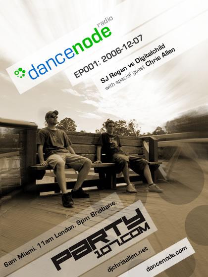 Dancenode Radio Debut (12-07-06)!