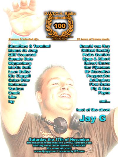 D.U.T.C.H. Radio Episode 100 - 28 Hours of Sets (11-17-07)