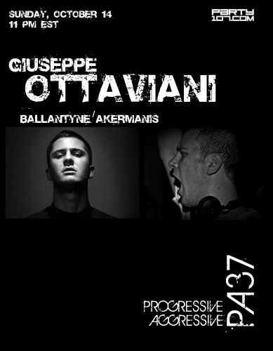Progressive Aggressive 037 with Dave Akermanis and Giuseppe Ottaviani (10-14-07)