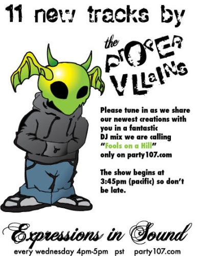 Proper Villains - Fools On A Hill on Expressions in Sound (03-14-07)