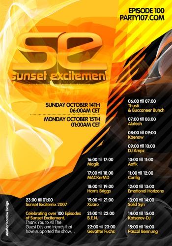 Sunset Excitement 100 XXXXXXXXXXXXXXXXXL - Two Year Anniversary (10-14-07)