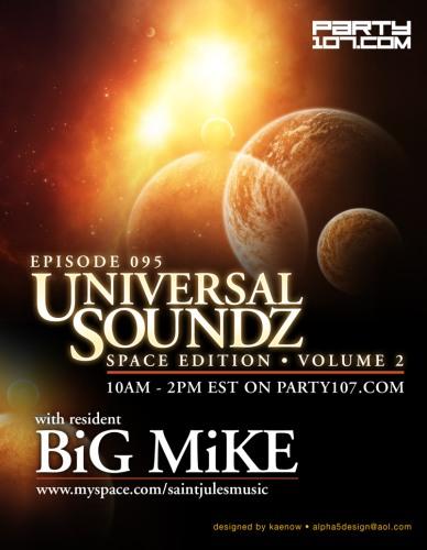 Universal Soundz 095 Four Hour Special - Space Edition (08-07-07)!