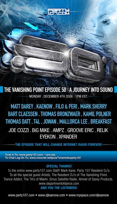 The Vanishing Point 050 - Massive 50th Episode Celebration (12-04-06)!