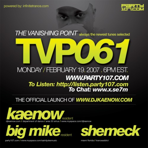 The Vanishing Point 061 with Kaenow, BiG MiKE, and Shemeck