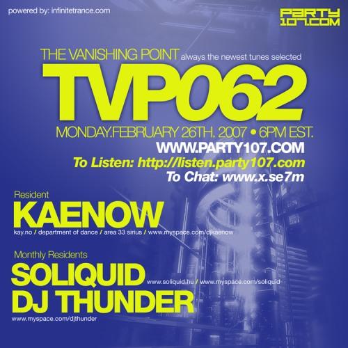 The Vanishing Point 062 with Kaenow, Soliquid, and DJ Thunder
