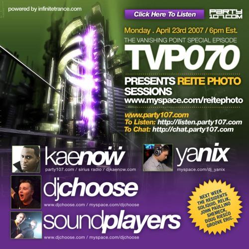 The Vanishing Point 070 with Kaenow, DJ Choose, Soundplayers, and Yanix (04-23-07)
