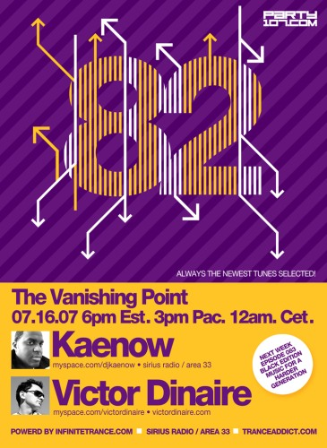 The Vanishing Point 082 with Kaenow and Victor Dinaire (07-16-07)