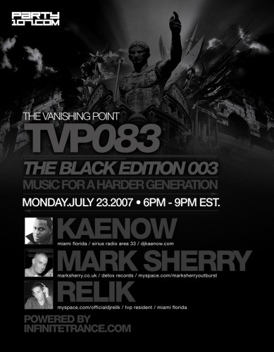 The Vanishing Point 083 with Kaenow, Mark Sherry, and Relik (07-23-07)