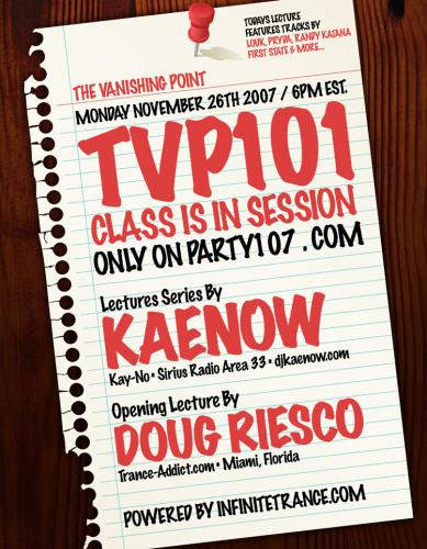 The Vanishing Point 101 with Kaenow and Doug Riesco (11-26-07)