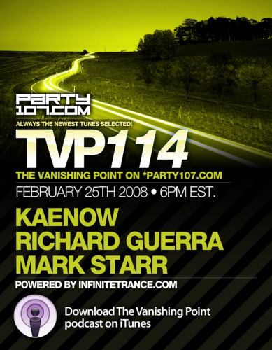 The Vanishing Point 114 with Kaenow, Richard Guerra, and Mark Starr (02-25-08)