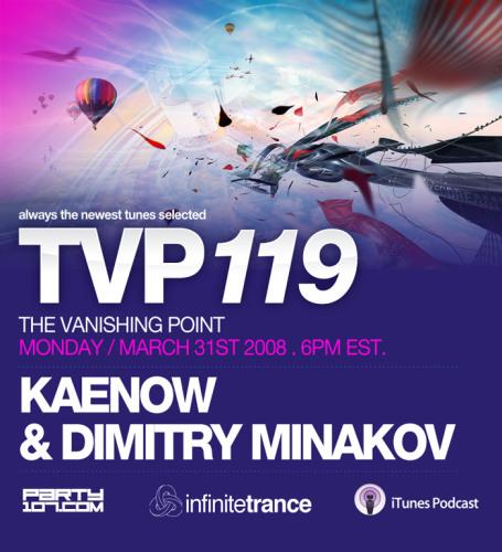The Vanishing Point 119 with Kaenow and Dmitry Minakov (03-31-08)