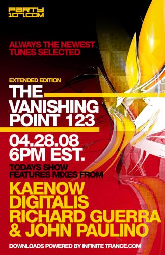 The Vanishing Point 123 with Kaenow, Digitalis, Richard Guerra, and John Paulino (04-28-08)