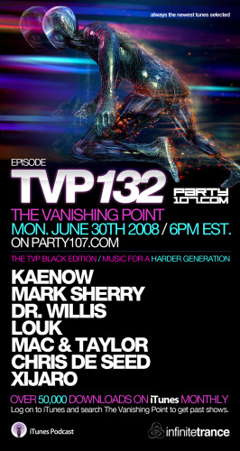 The Vanishing Point 132 Black Edition with Kaenow, Mark Sherry, Dr. Willis, XiJaro, and more