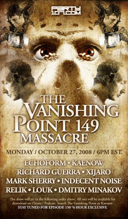 The Vanishing Point 149 Halloween Special with Kaenow, Mark Sherry, XiJaro, Indecent Noise, and more (10-27-08)
