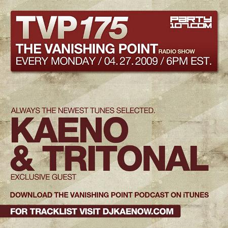 The Vanishing Point 175 with Kaeno and Tritonal (04-27-09)